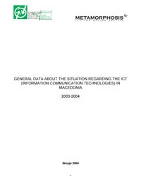 ICT research 2004