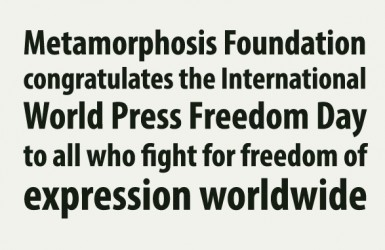 world press freedom day metamorphosis EN