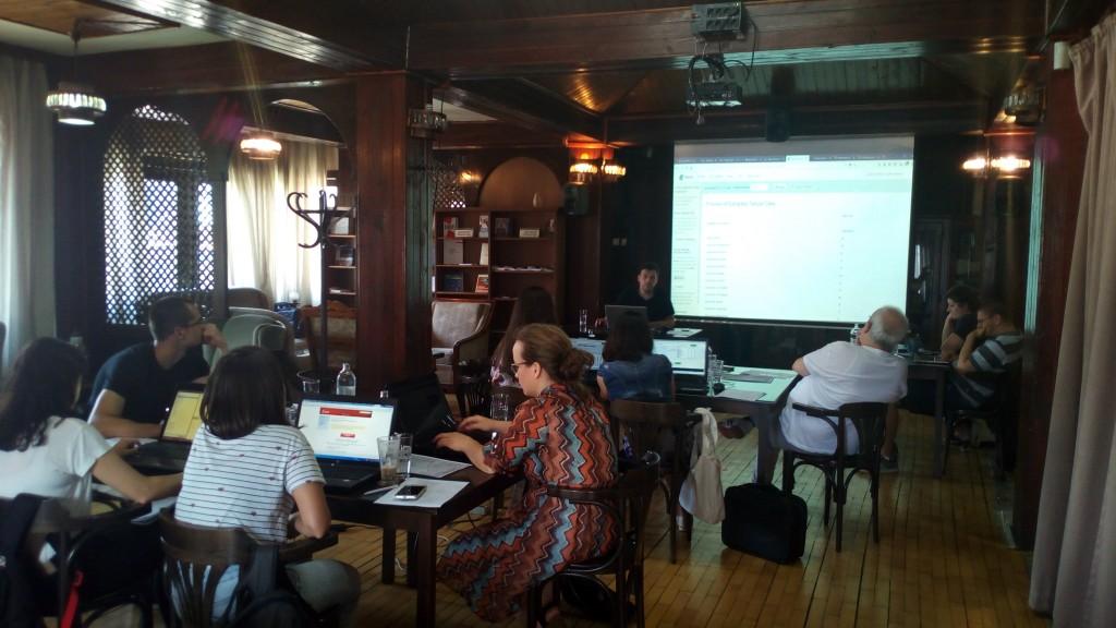 DATA training at CEM