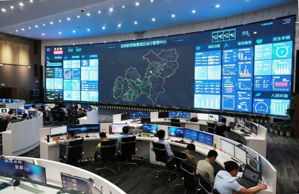 """""""Smart city brain"""" of LOC in Shenzhen"""